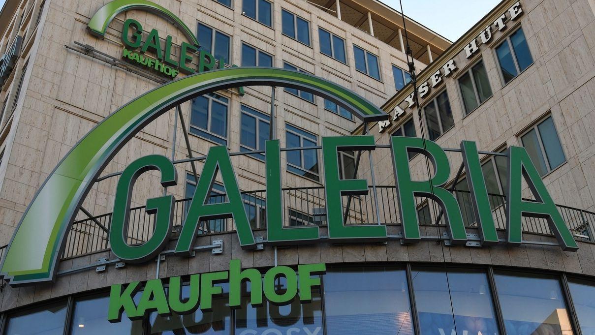 Die Filiale von Galeria-Karstadt-Kaufhof in München am Karlsplatz / Stachus
