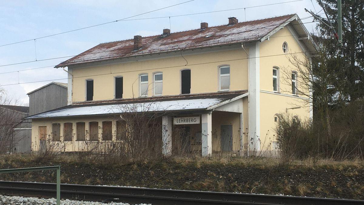 Ehemaliger Lehrberger Bahnhof (Lkr. Ansbach)