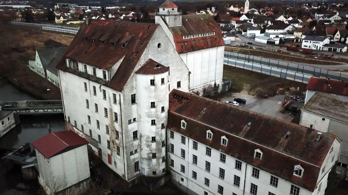 Industriedenkmal Stockaumühle in der Nähe von Ingolstadt