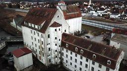 Industriedenkmal Stockaumühle in der Nähe von Ingolstadt   Bild:Bayerischer Rundfunk 2020