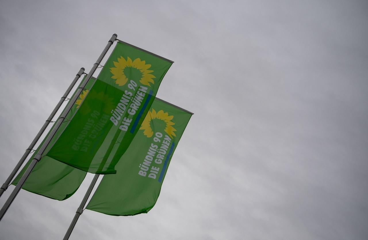 Flaggen von Bündnis90/Grüne