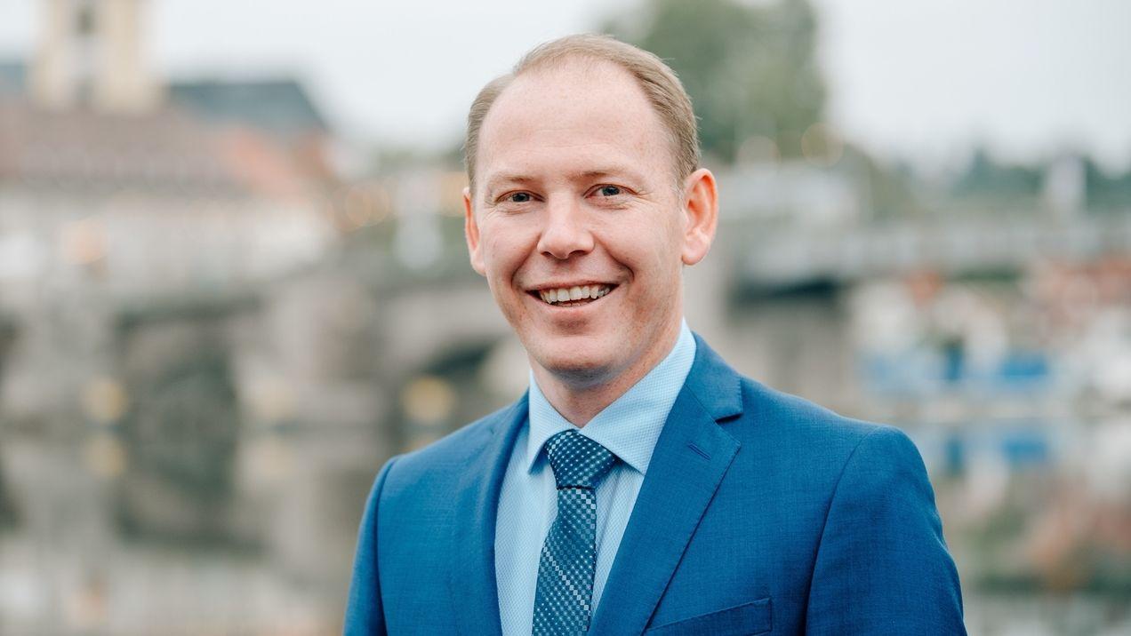 Stefan Güntner ist neuer Kitzinger Oberbürgermeister.