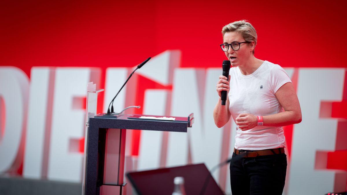 Susanne Hennig-Wellsow, Parteivorsitzende der Partei Die Linke