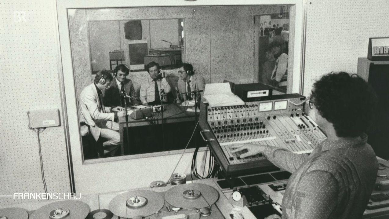 Hörfunk-Sendung aus dem Studio Franken