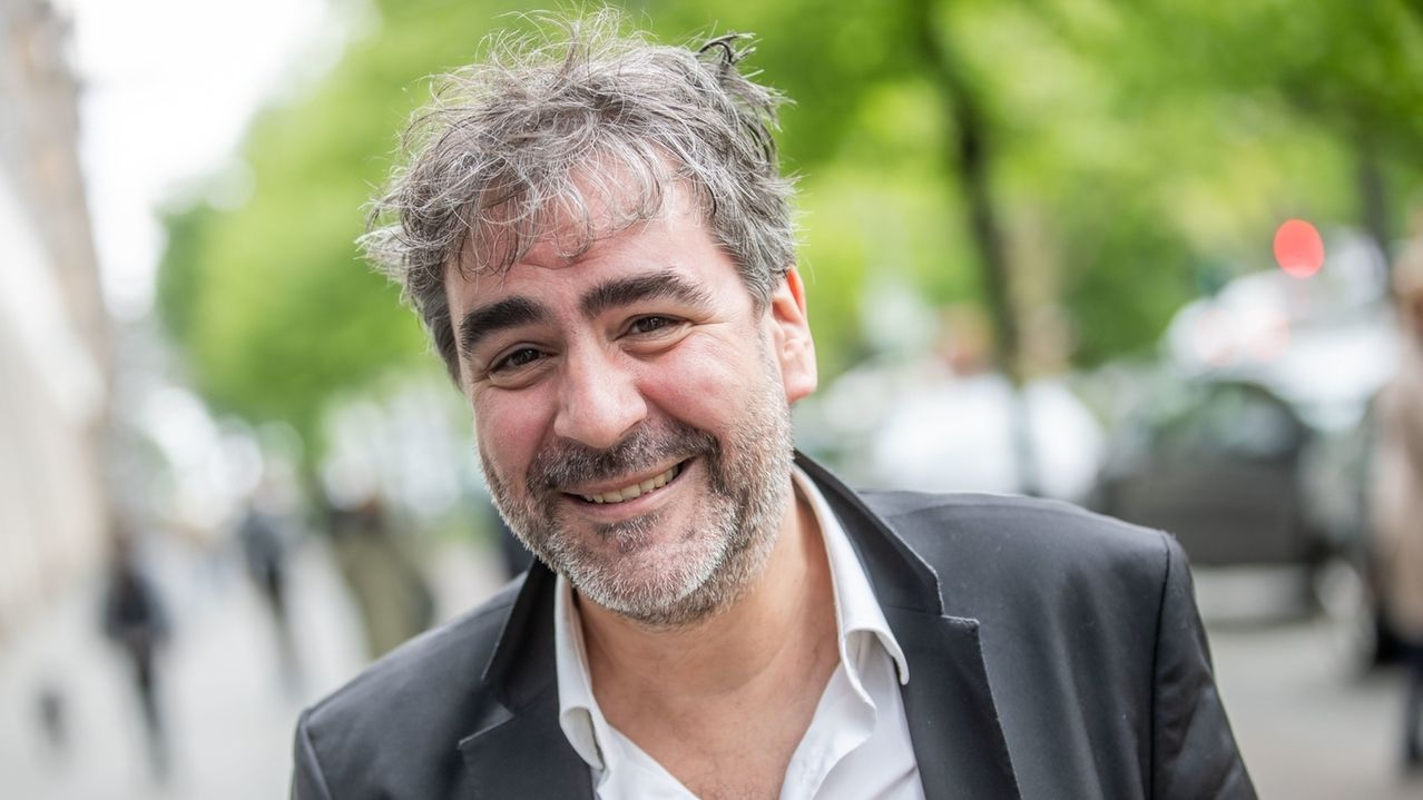 Journalist Deniz Yücel in Berlin.