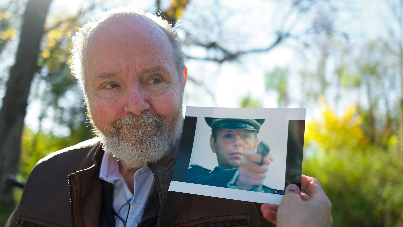 """Der US-amerikanische Schauspieler Michael Moriarty spielte in der Serie """"HOLOCAUST"""" die Rolle des SS-Juristen Erik Dorf."""
