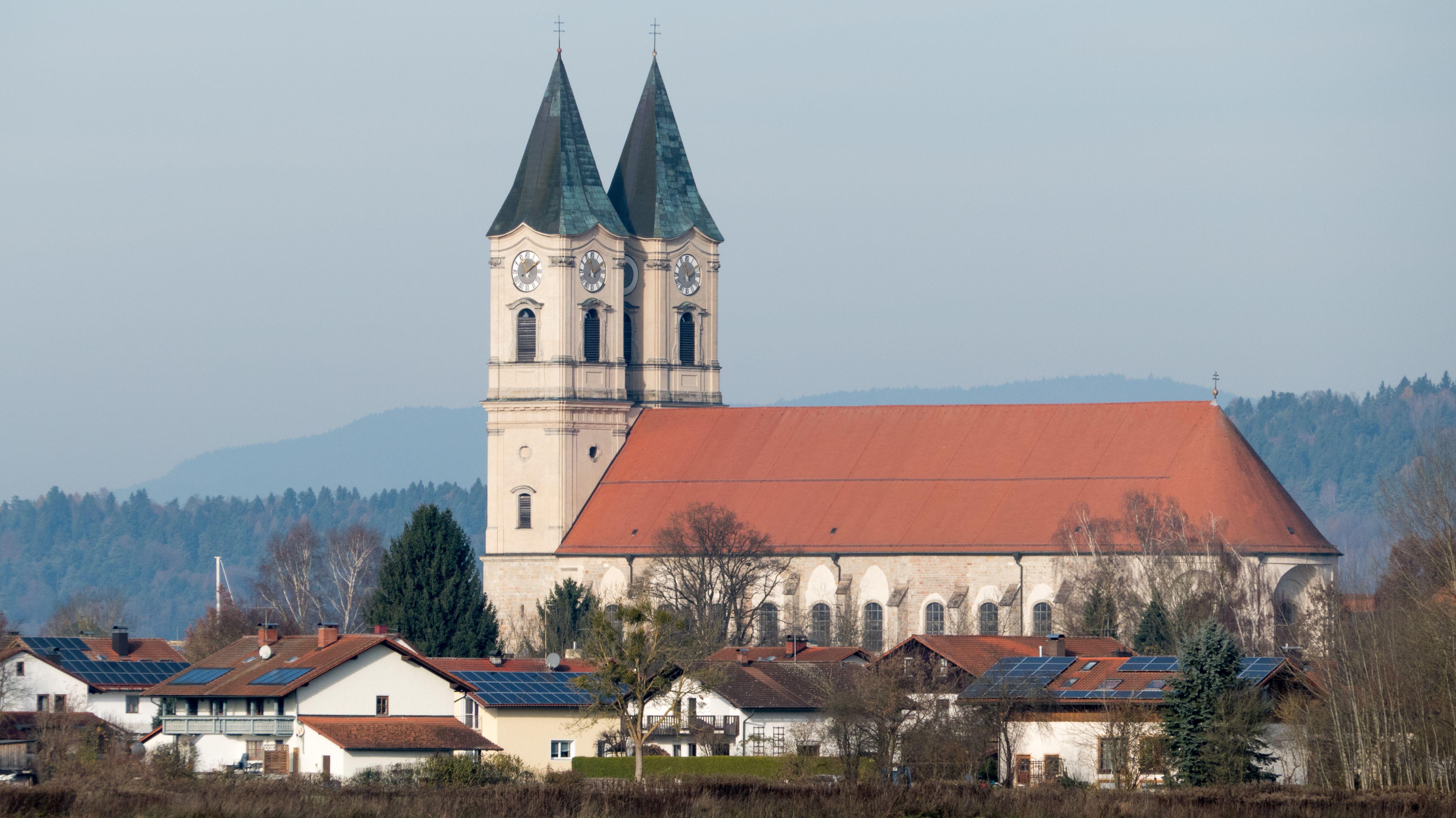 Kirche des Benediktinerklosters in Niederalteich