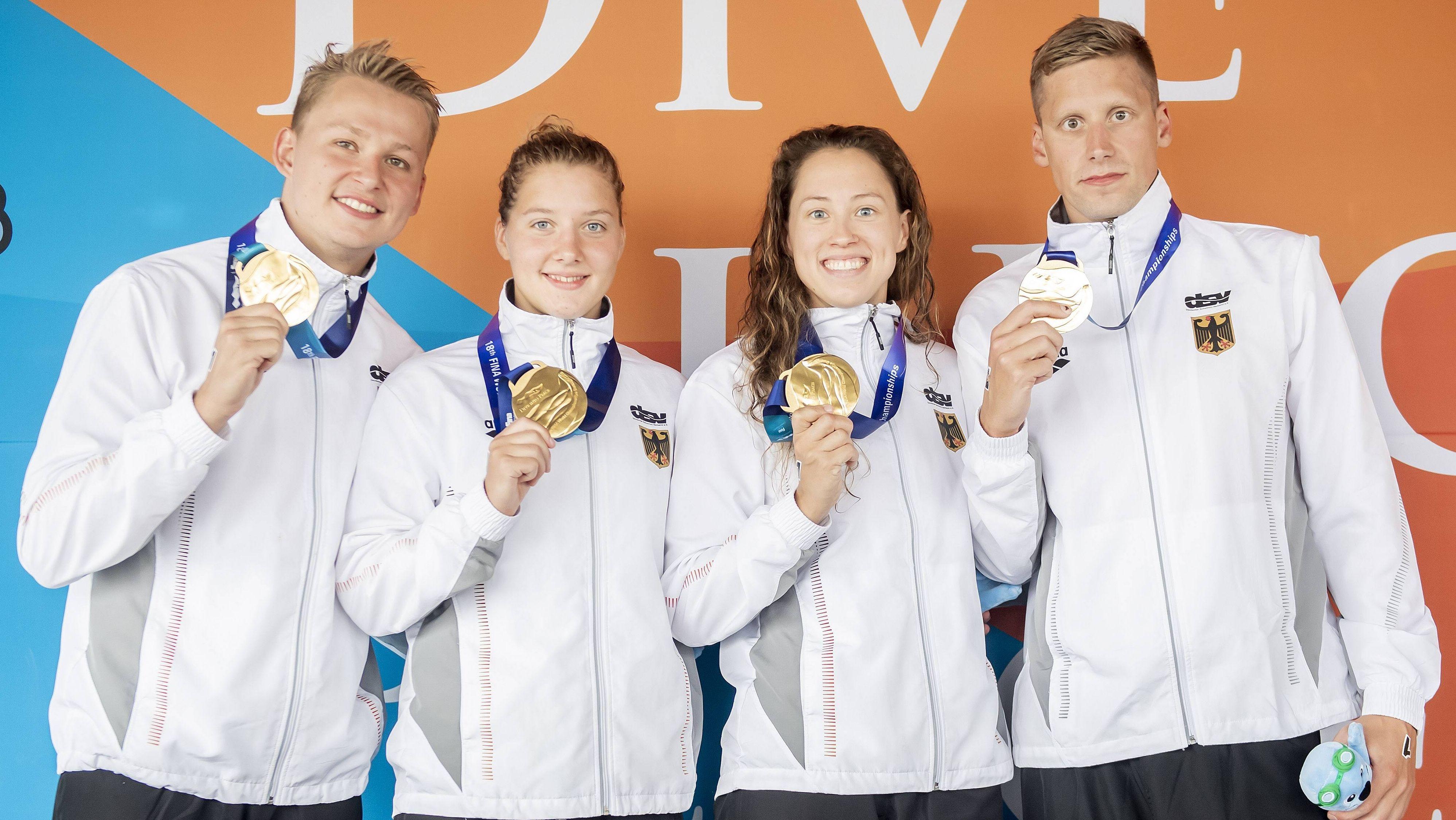 Rob Muffels, Lea Boy, Sarah Köhler, Sören Meißner (v.l.)