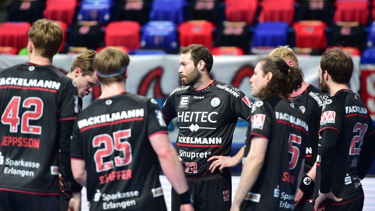 Spieler des HC Erlangen