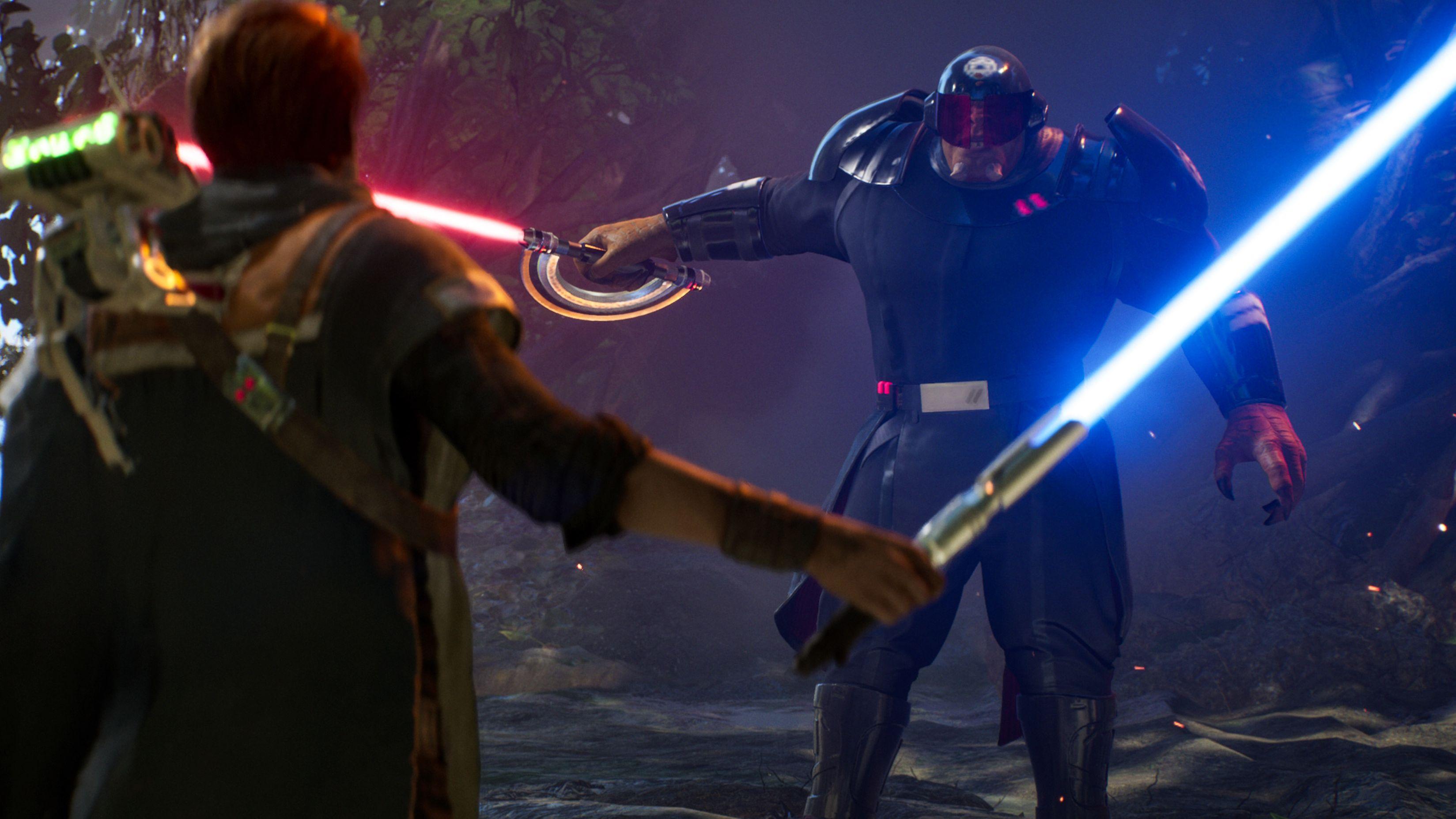 """Spielszene """"Jedi Fallen Order"""""""