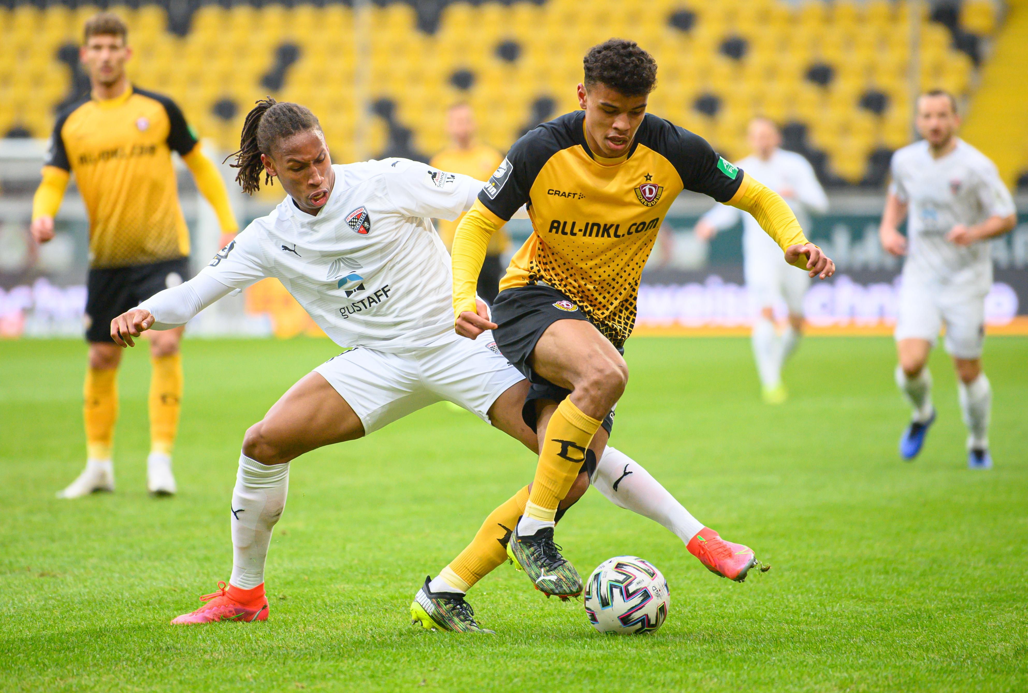 Spielszene Dynamo Dresden - FC Ingolstadt 04