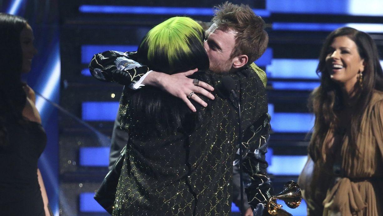 Billie Eilish und ihr Bruder Finneas waren die großen Gewinner bei den Grammy-Awards.