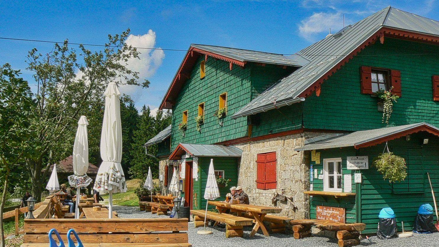 Wanderhütte Seehaus