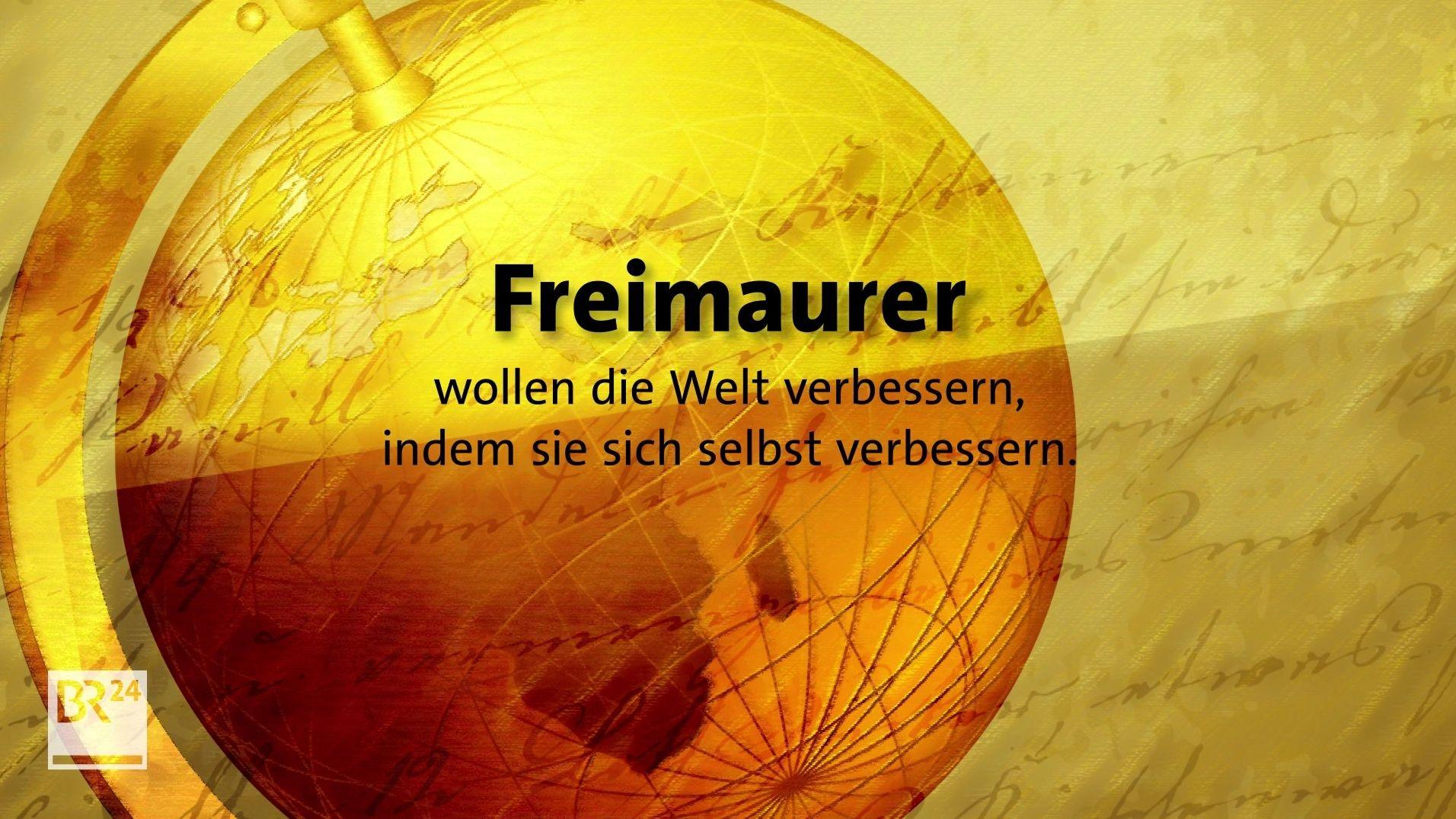 Geheimbündler, Verschwörer, Weltverbesserer: Was sind Freimaurer?