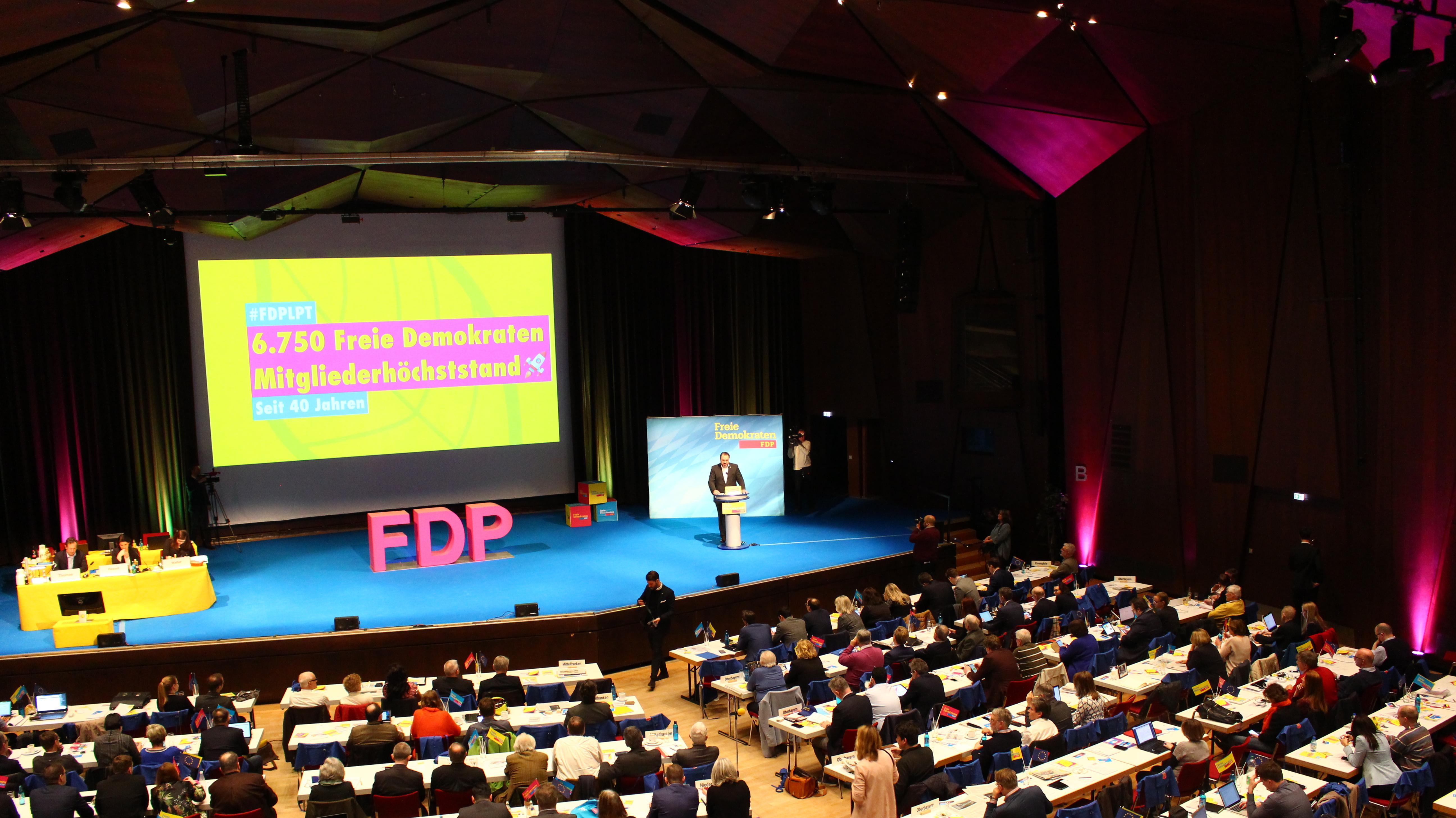 Rede von Daniel Föst beim Landesparteitag