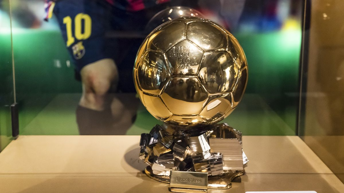 """Ballon d'Or"" - der goldene Ball"