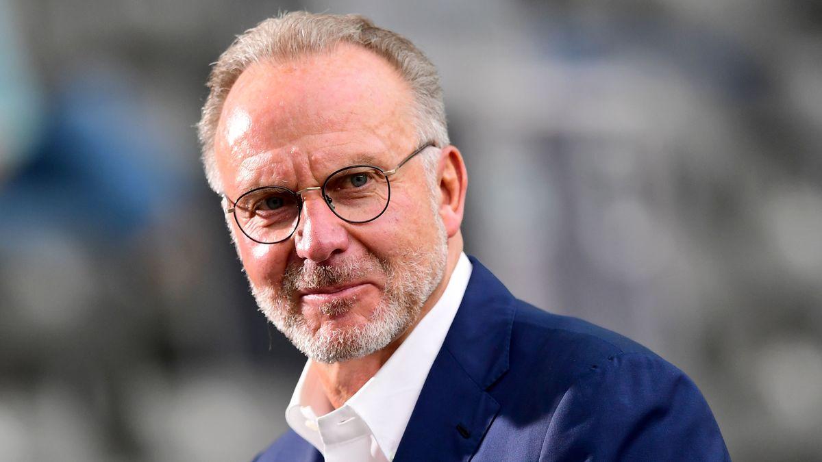 FC Bayern-Vorstandsvorsitzender Karl-Heinz Rummenigge
