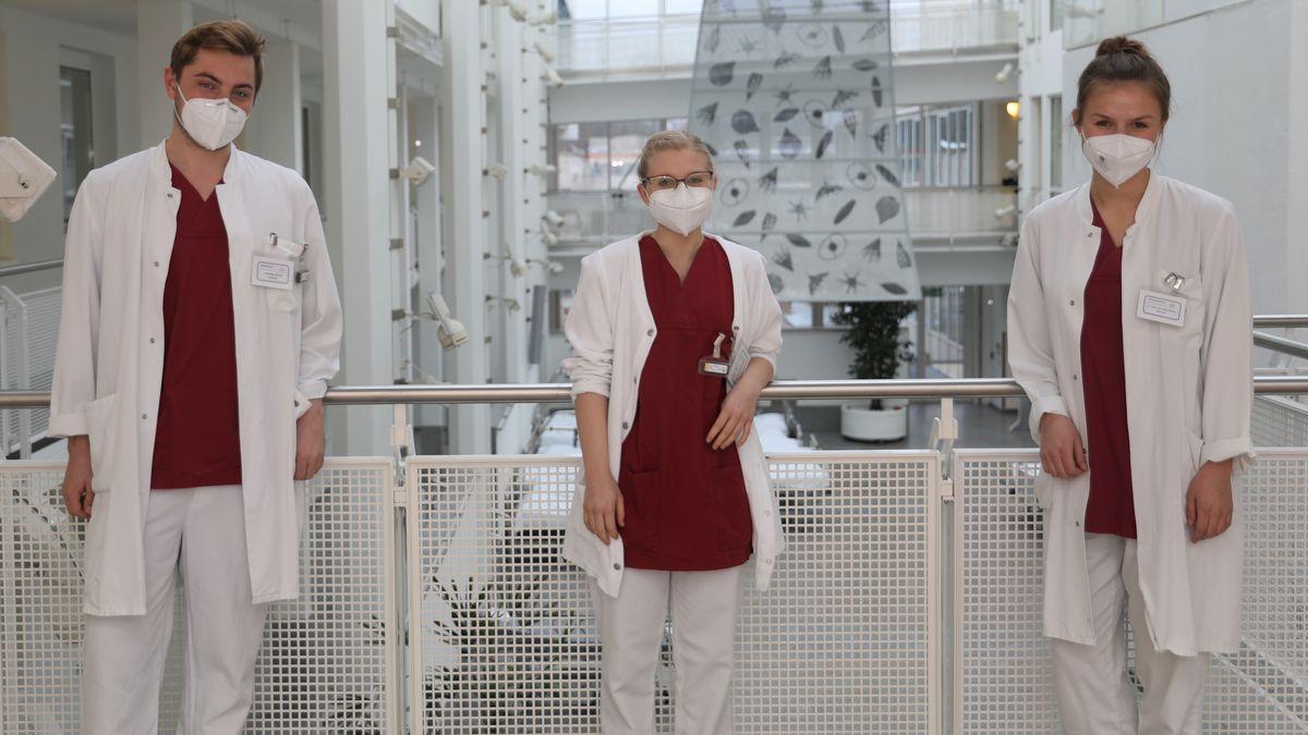 Assistenzärzte der Radiologie helfen am Impfzentrum Landshut mit