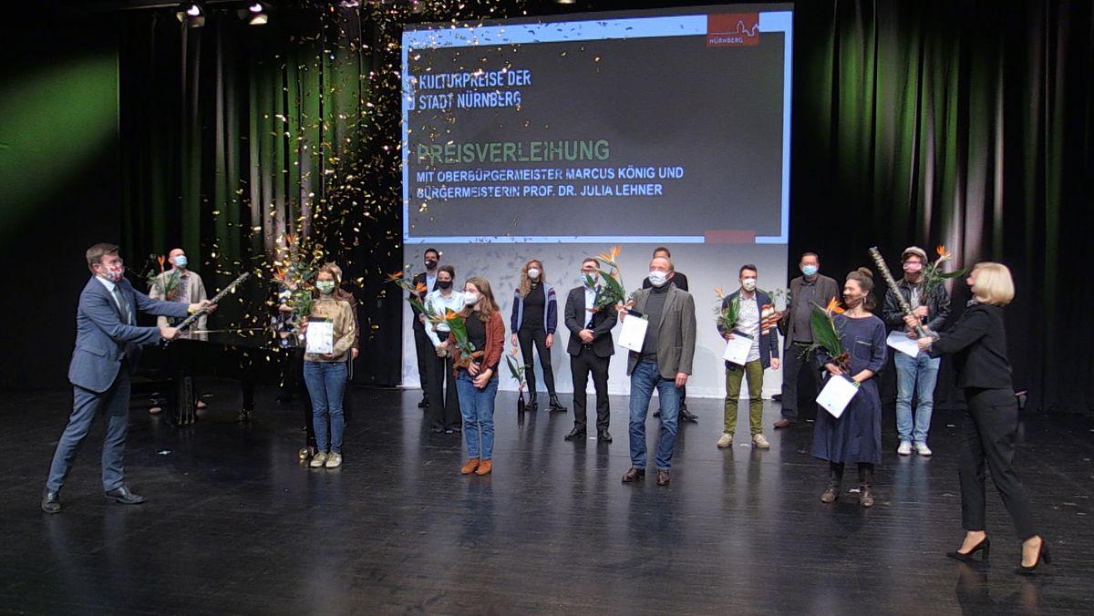 Wegen der Corona-Krise wurde die Verleihung der Kulturpreise der Stadt Nürnberg vorab aufgezeichnet