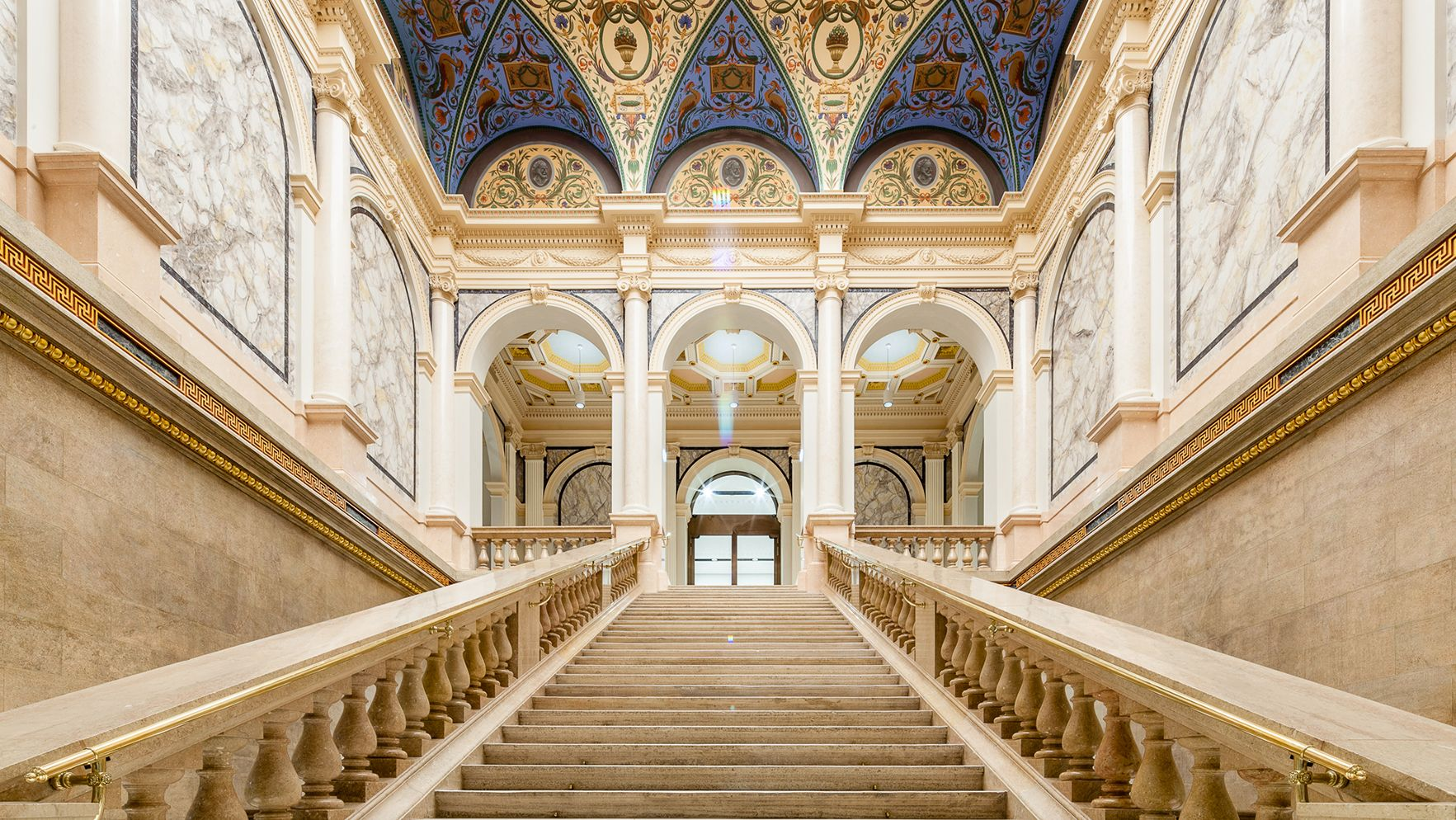 Barocker Treppenaufgang