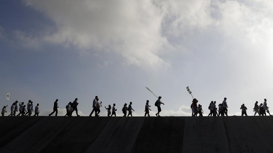 An der Grenze zwischen USA und Mexiko