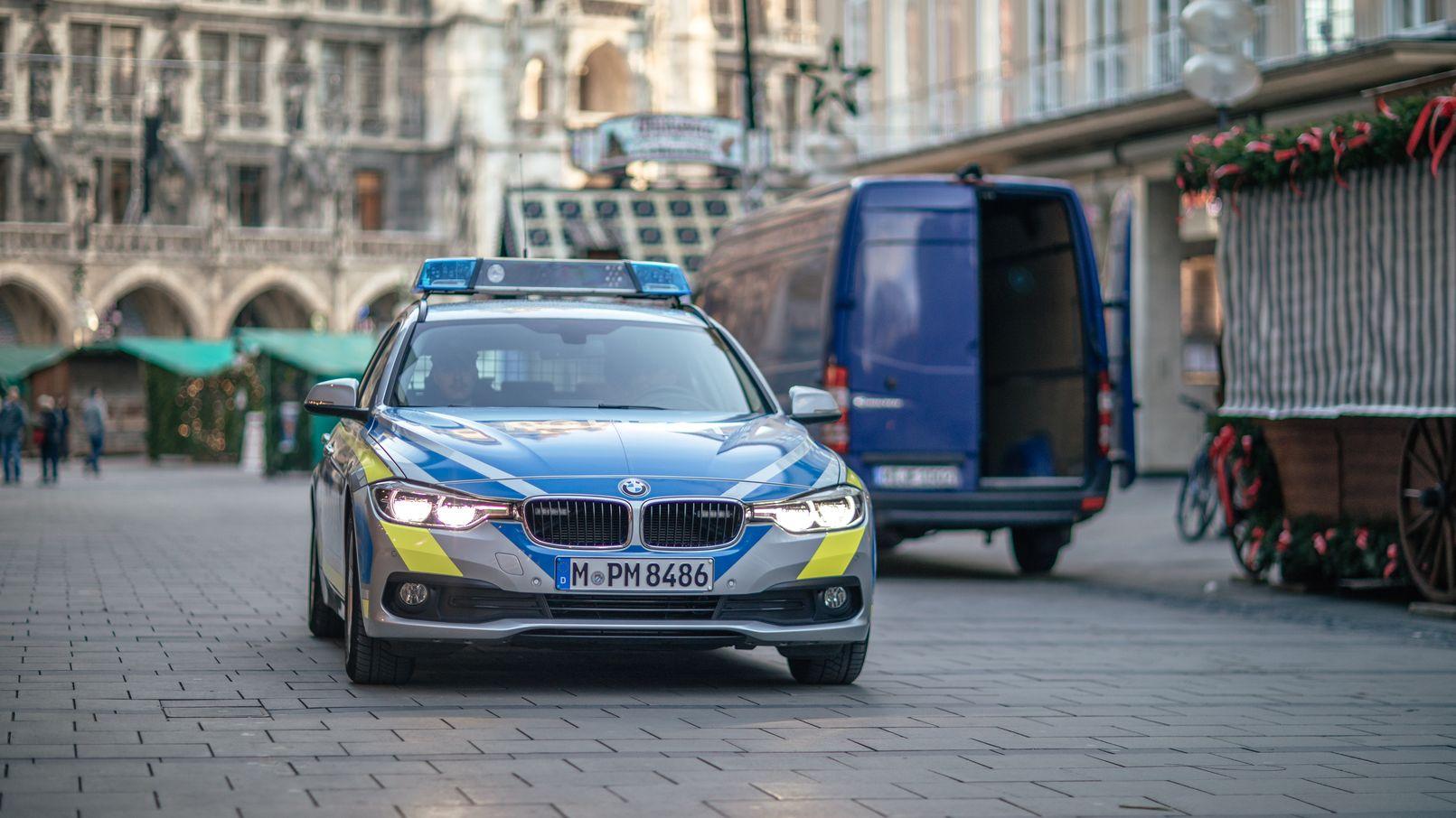 Mehr Präsenz der Polizei in den Innenstädten, wie hier am Marienplatz in München, das wünscht sich die Staatsregierung.