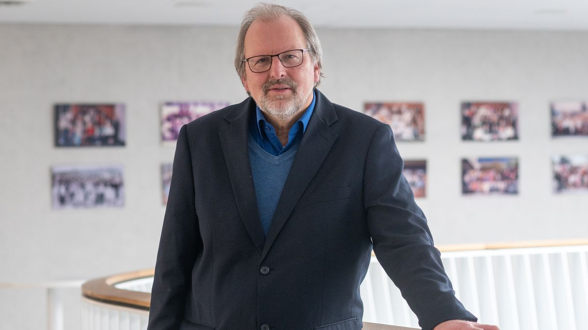 Heinz-Peter Meidinger, der Präsident des Deutschen Lehrerverbandes