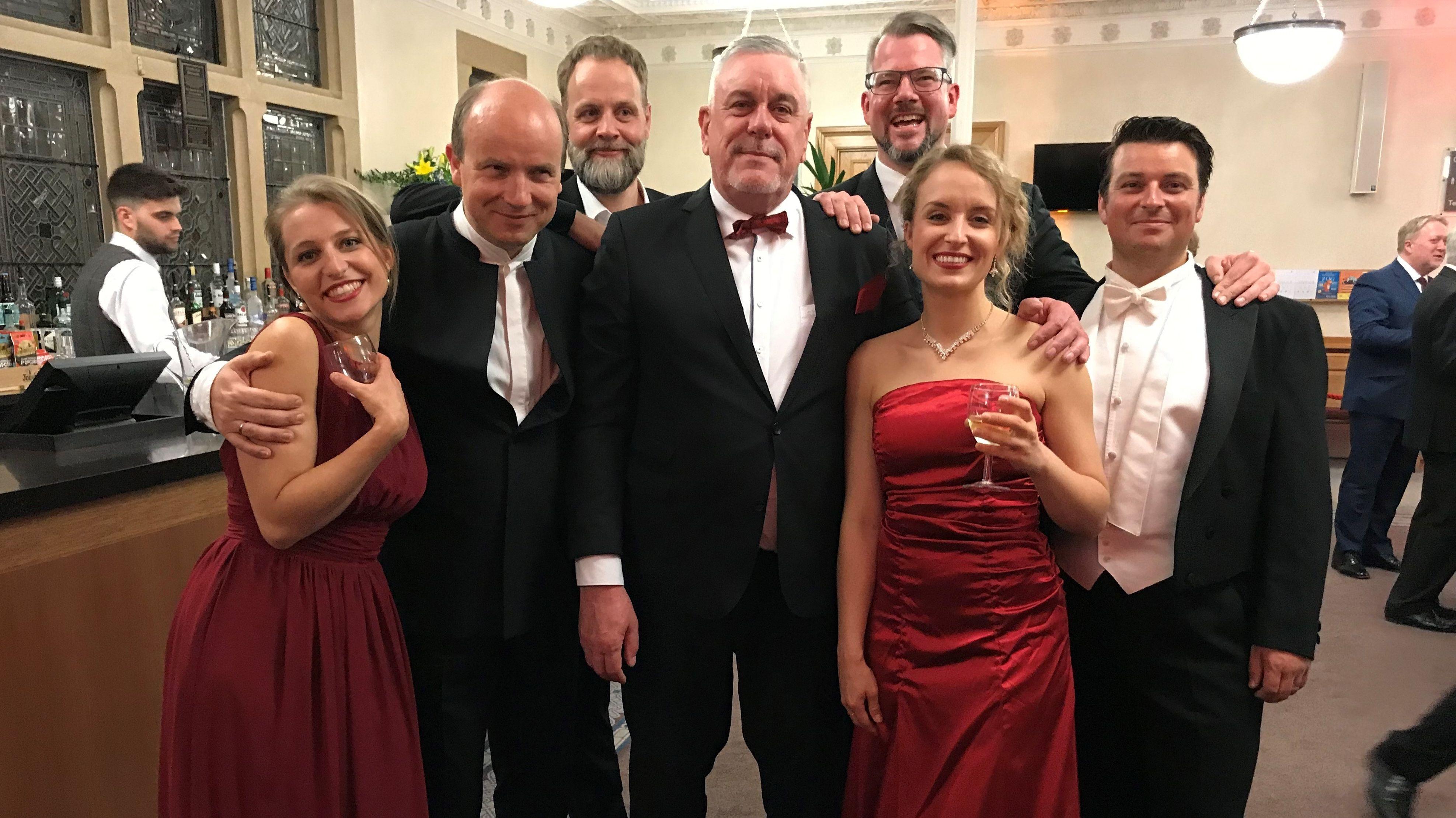 Coburger Orchester begeistert London und die Royals