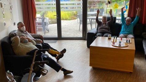 Die Stimmung der Bewohner der Lebenshilfe-Einrichtung Mellrichstadt sei gut, so die Leitung.