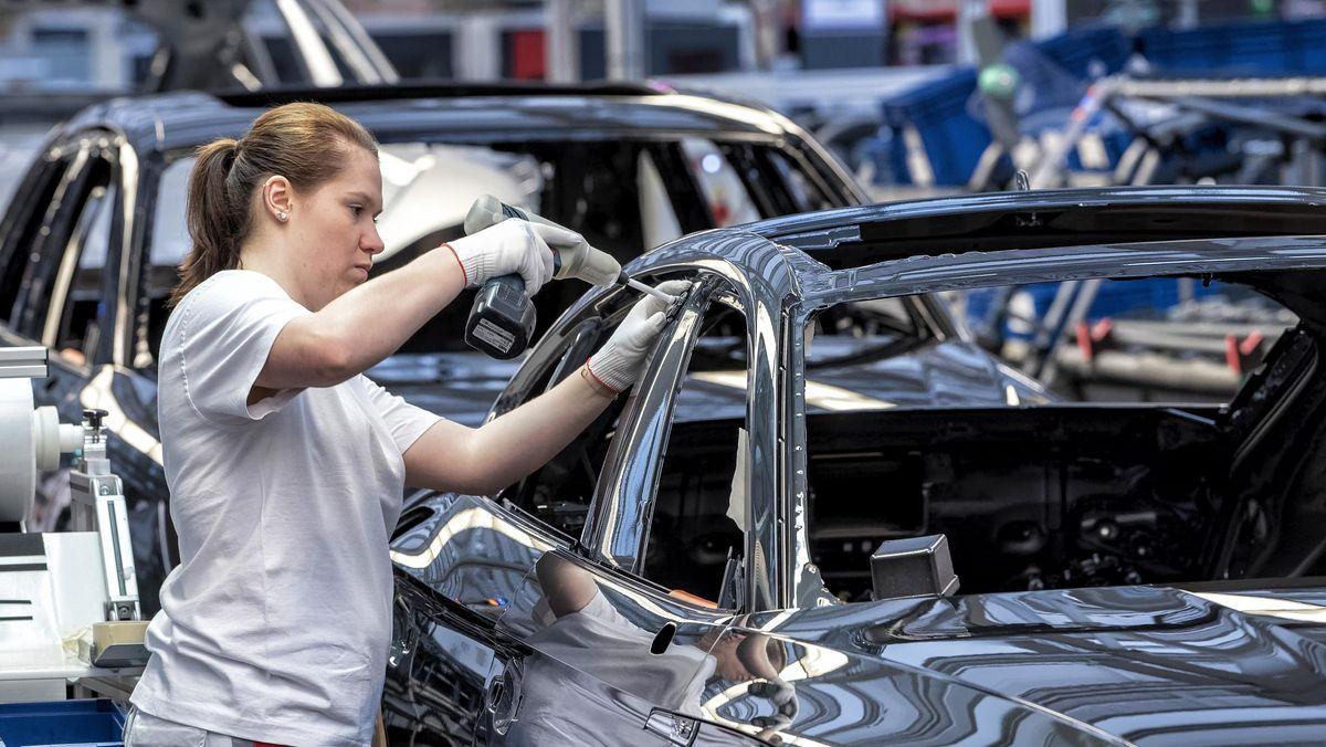 Im Stammwerk Ingolstadt nähert sich die Produktion dem Vor-Corona-Niveau.