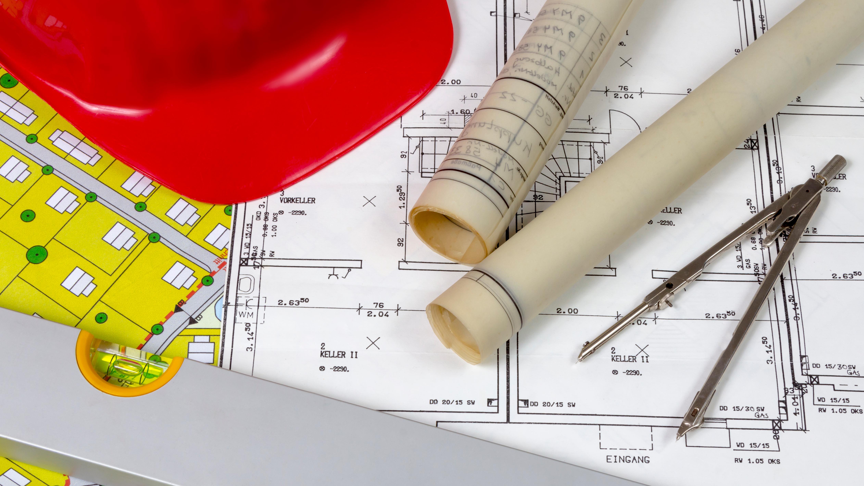 Symbolbild: Bauplan