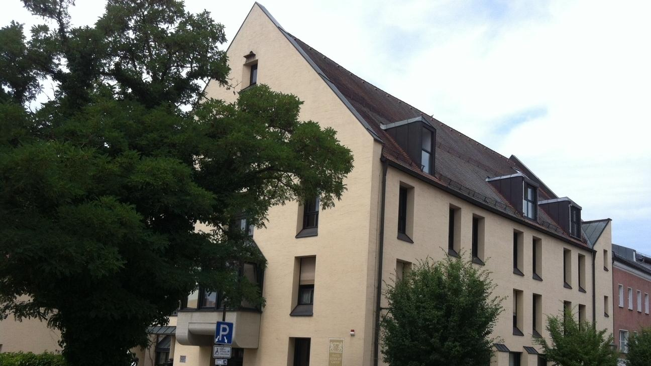 Das Amtsgericht in Cham