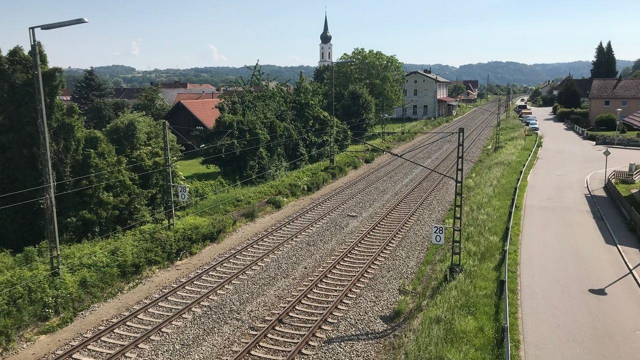 Anwohner wollen keine Bahn-Lärmschutzwand