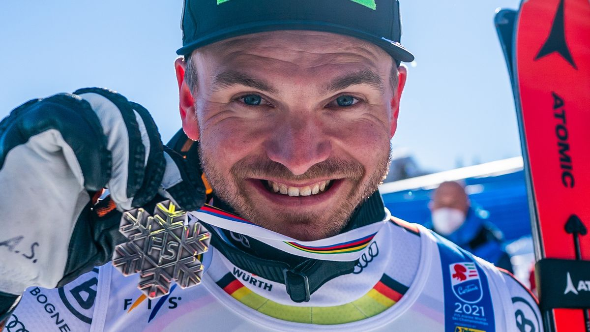 Andreas Sander mit Silbermedaille in Cortina d'Ampezzo