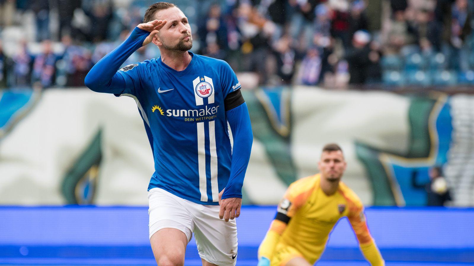 Ingolstadt kommt in Rostock mit 0:3 unter die Räder