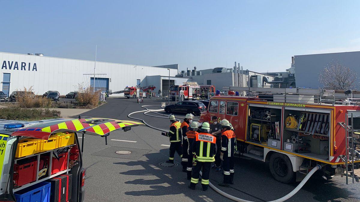 Brand bei Yachtbau-Unternehmen Bavaria in Giebelstadt