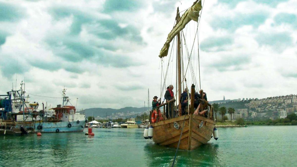Antikes Schiff sticht wieder in See