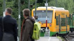 Ein Zug der Oberpfalzbahn | Bild:pa/dpa/A. Weigel