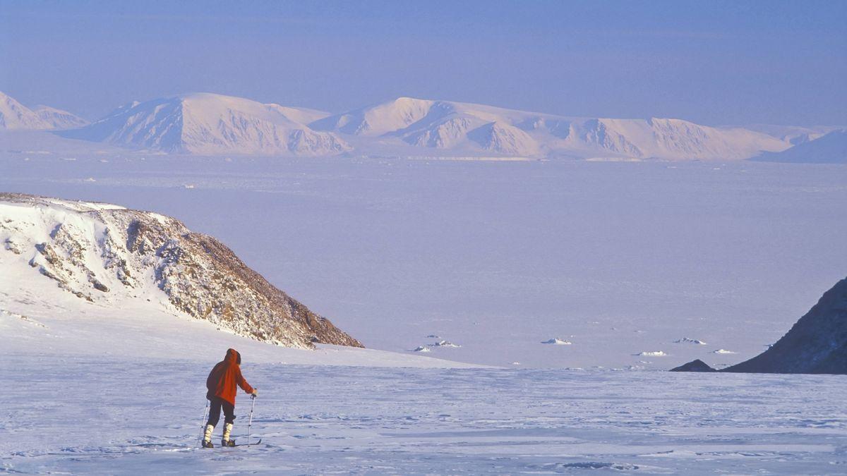 Schnee und Eis auf Ellesmere Island in Kanada (Archivbild)