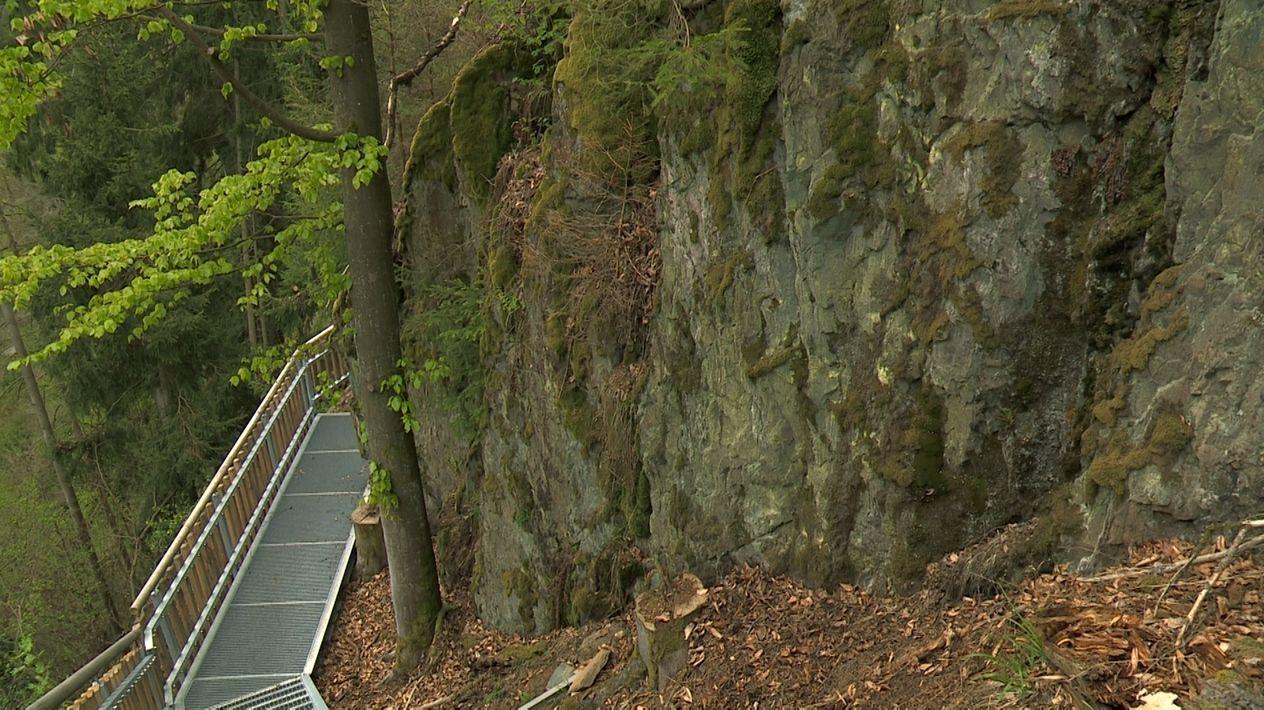 Am Felsenpfad durchs Höllental