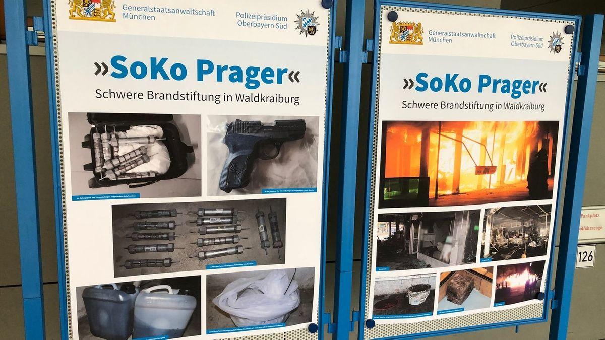 """Bilder der """"Soko Prager"""" zeigen die Tatorte und eingesetzten Sprengmittel"""