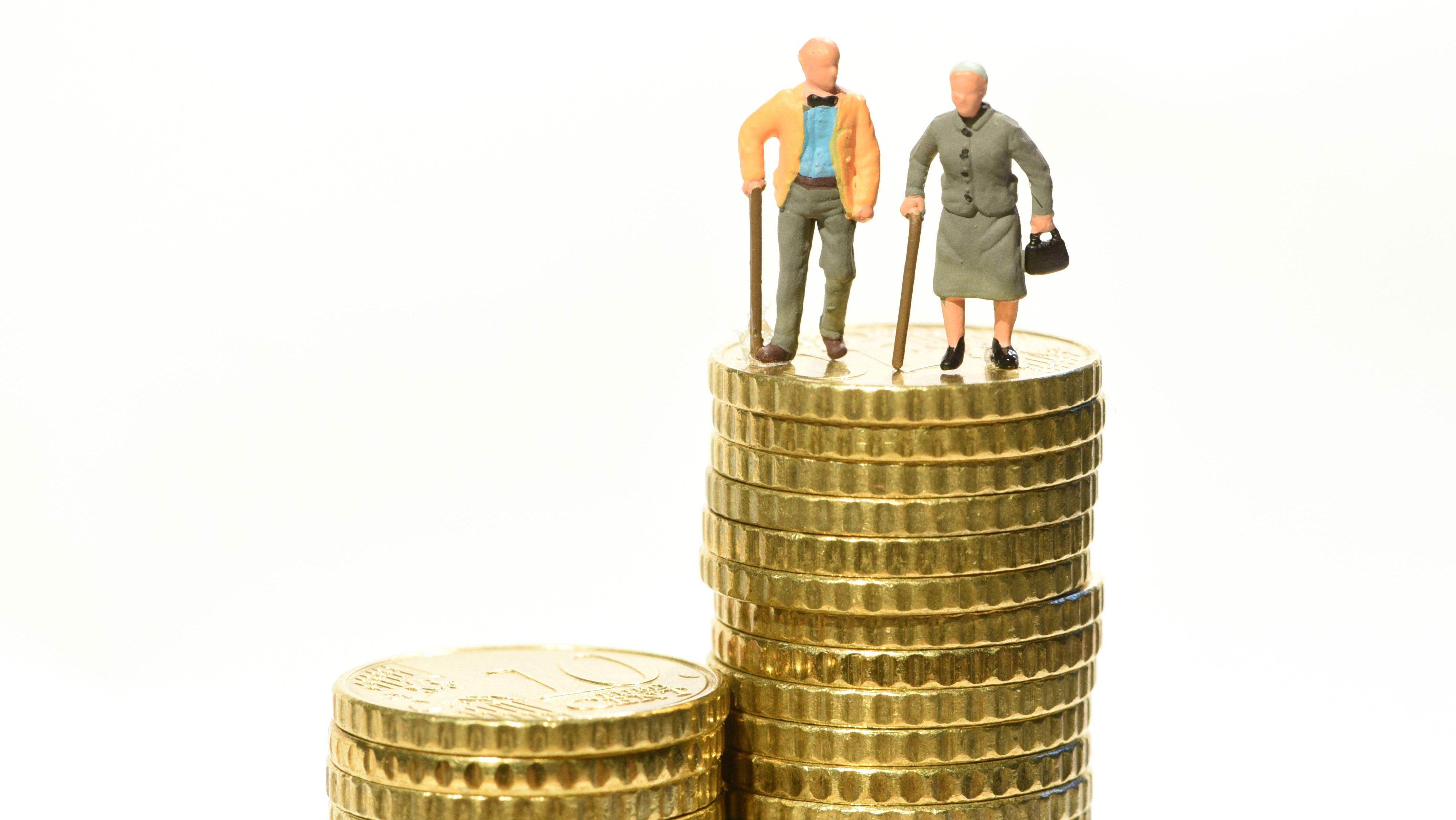 Die Renten steigen