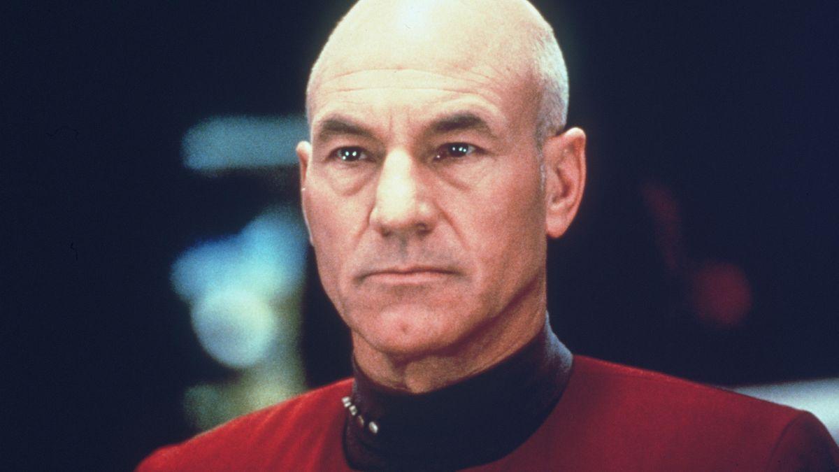 Patrick Stewart als Captain Jean-Luc Picard