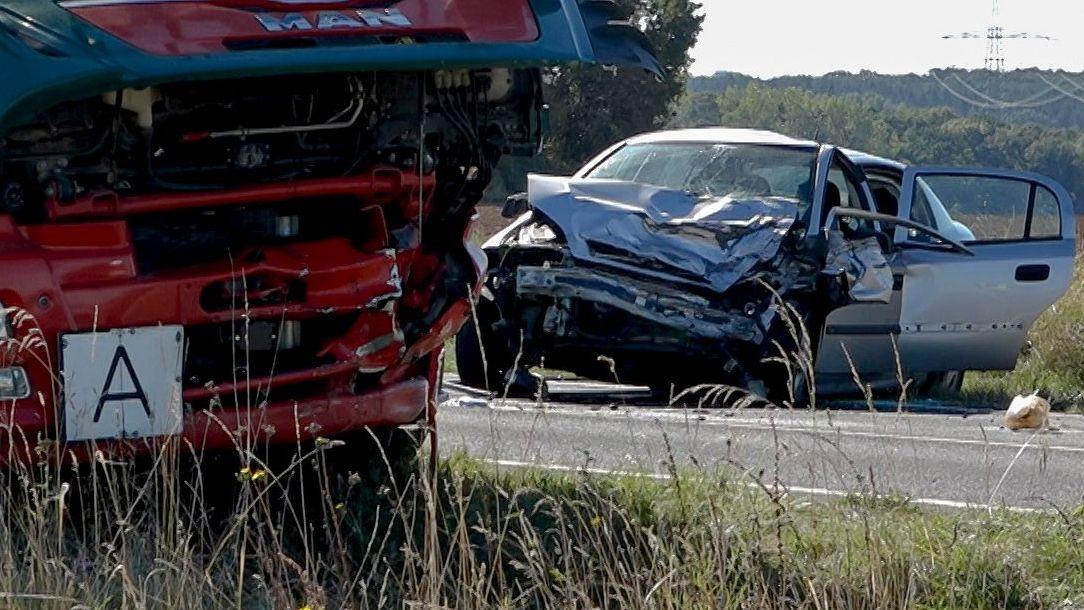 Schwerer Verkehrsunfall bei Sommerhausen