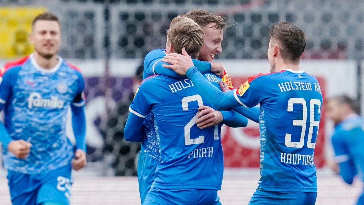 Holstein Kiel hat in der 2. Bundesliga viel Grund zu jubeln