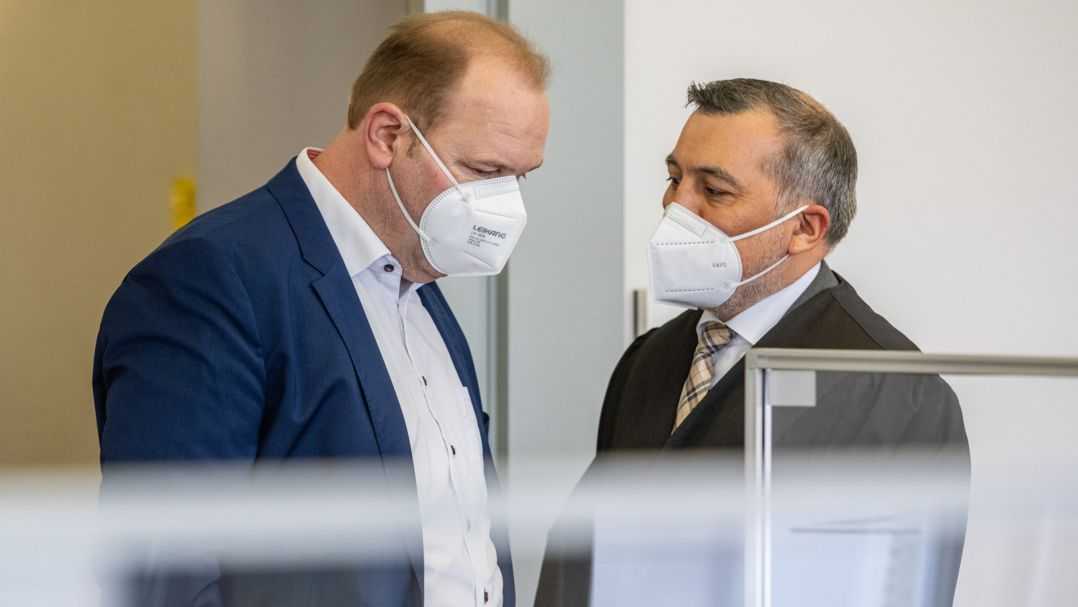 Christian Schlegl vor Gericht