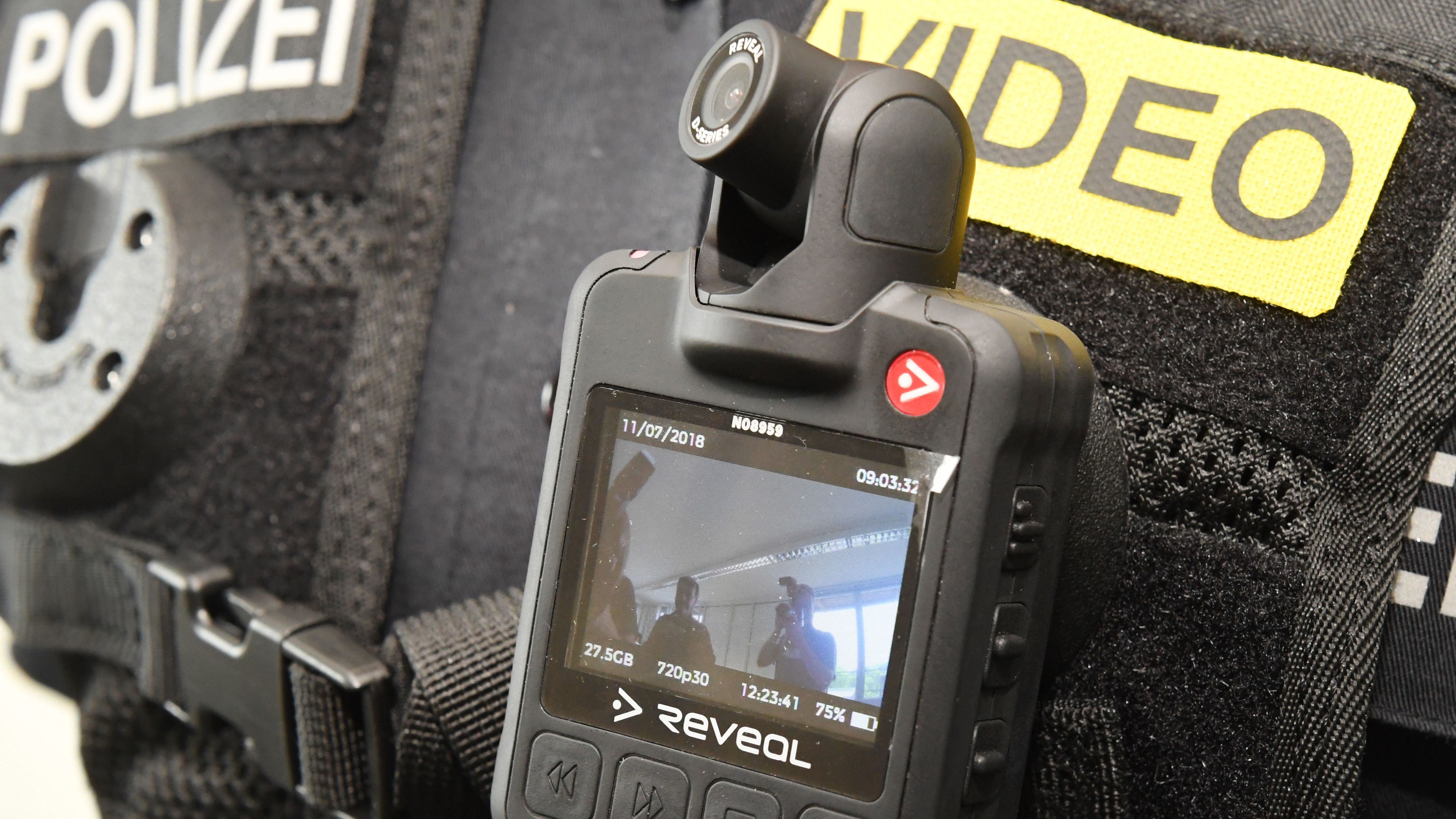 So sehen die Bodycams der Polizei aus.