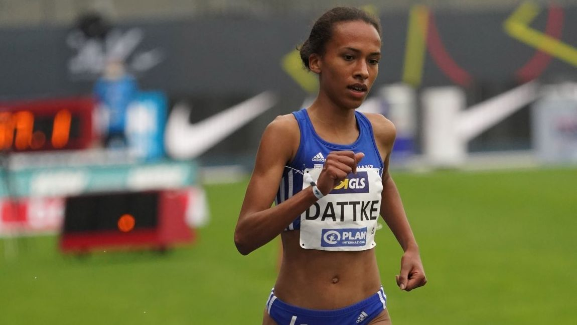 Läuferin Miriam Dattke