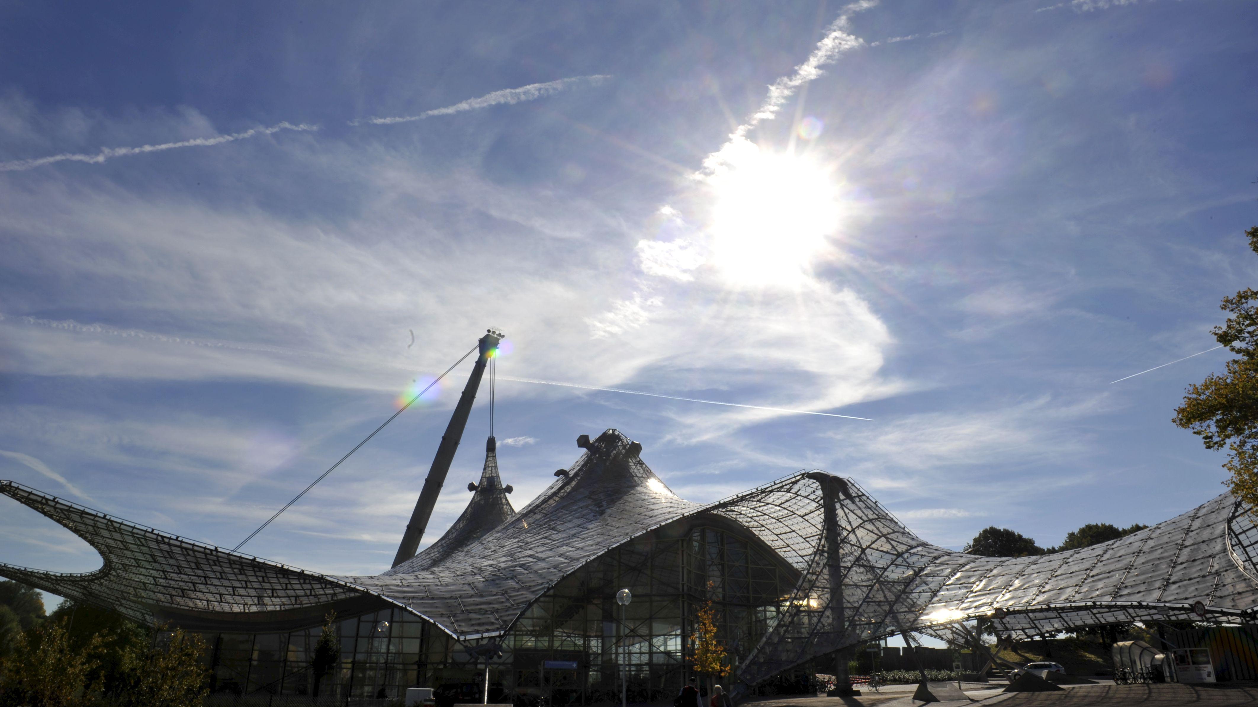 Olmpiaschwimmhalle in München