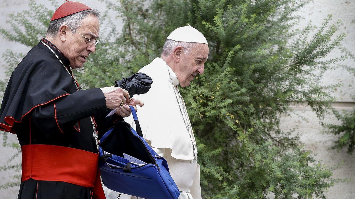Papst Franziskus am 11. Oktober in Rom